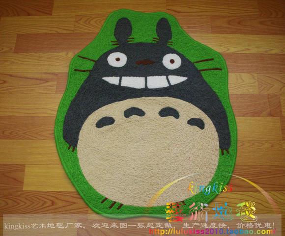 龙猫 多多龙 地毯 乐哼哈奇 宫崎骏超级 抱抱猫 地垫