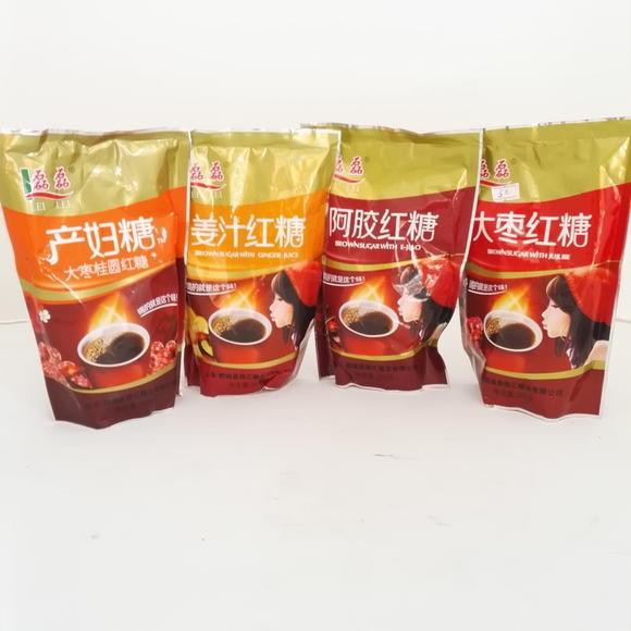 磊磊(大枣糖,产妇零食,红糖阿胶,红糖红糖)(姜汁小吃)双亚有机菜籽油图片
