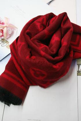 兔子花围巾织法步骤图