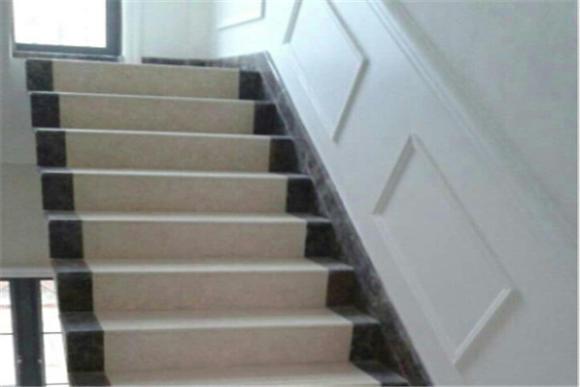 金碧辉煌大理石楼梯踏步1