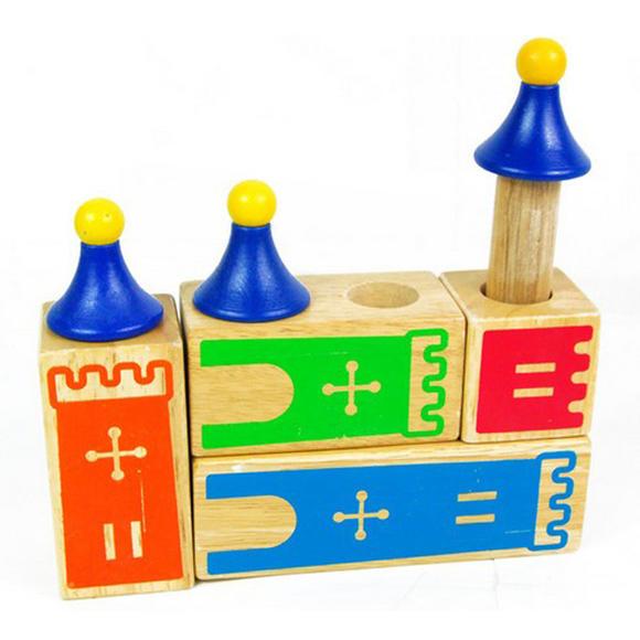 小乖蛋城堡木制梦想-幼教绵羊玩具益智玩具亲子玩具想象zm0013英国ewan甜梦空间逻辑声光图片