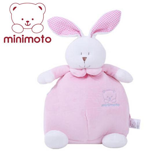 minimoto小米米wj森林故事小兔子背包/书包/粉红色 yt
