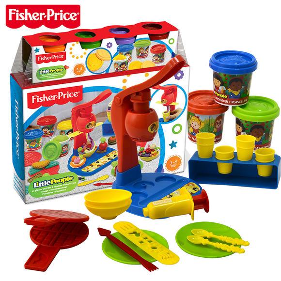 彩泥玩具 正品美国费雪自制冰淇淋彩泥套装 益智玩具安全无毒环保