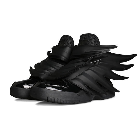 阿迪达斯三叶草天使之翼翅膀鞋范冰冰鹿晗高帮潮流街舞板鞋