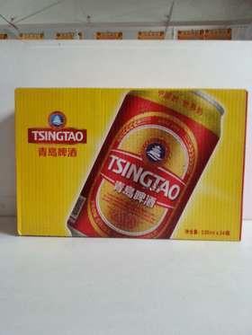 青岛啤酒红金330ml*24罐