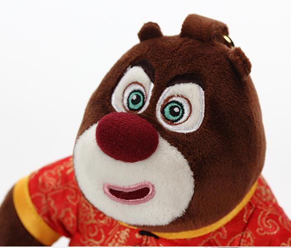 正版熊出没 熊大熊二 充电宝 可爱娃娃挂件