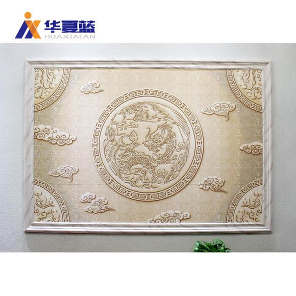 瓷砖背景墙 玄关欧式背景墙 过道玄关拼图 陶瓷砖壁画
