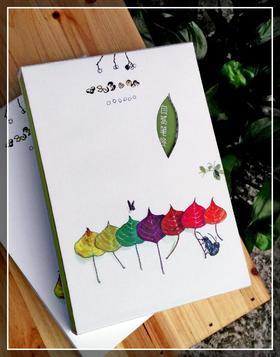 《自然笔迹》笔记本,任众老师《大自然笔记》的原创手绘,邂逅大自然的