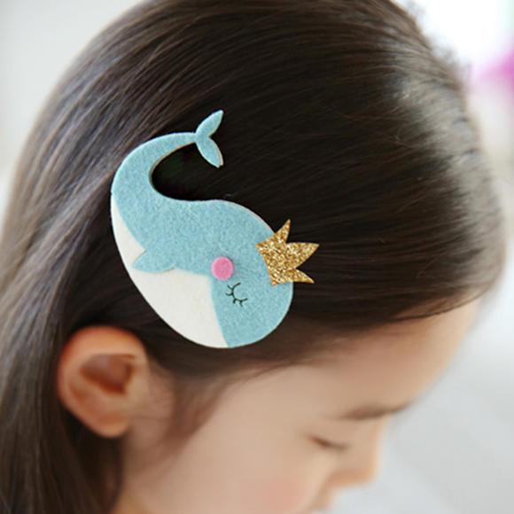 热卖韩版儿童发饰海豚婴儿童发夹卡通儿童头饰发饰品