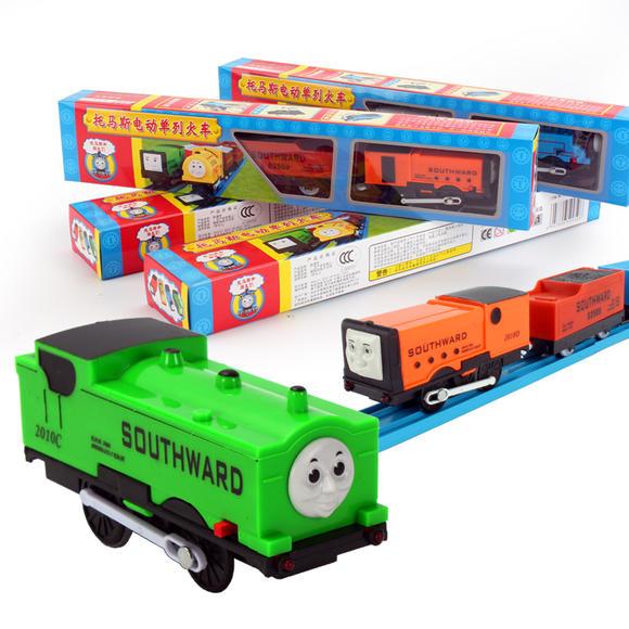 托马斯小火车 男孩儿童玩具单列套装火车头车厢车配件