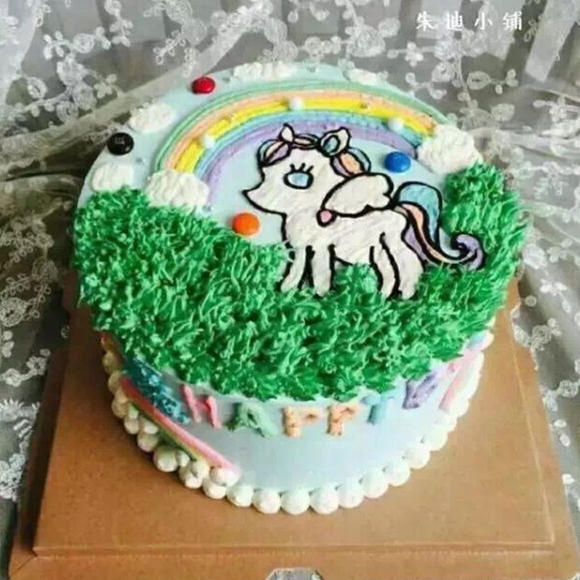 小马宝莉奶油蛋糕