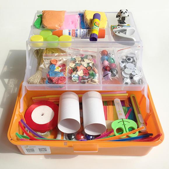乐星球 儿童diy手工制作材料包(实物与图片略有误差,以实物为准)