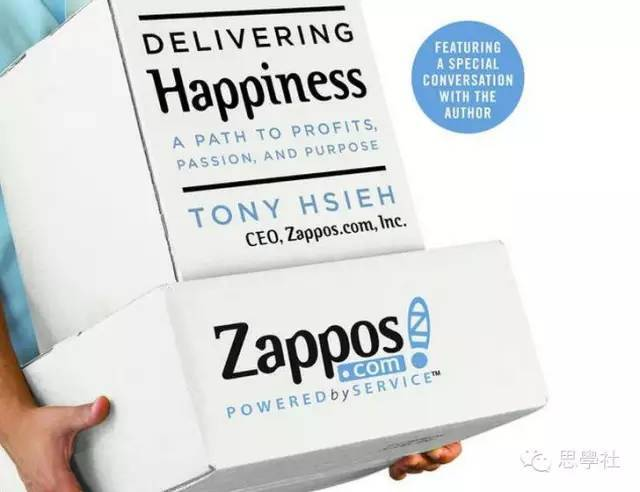 7) delivering happiness