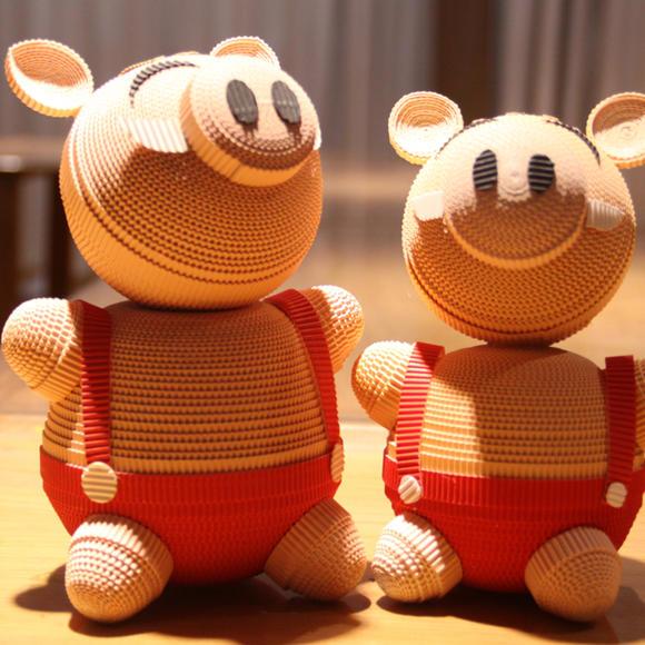 猪宝宝 粉红猪