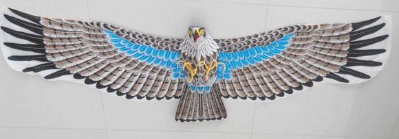 雄鹰风筝(金丝线)图片