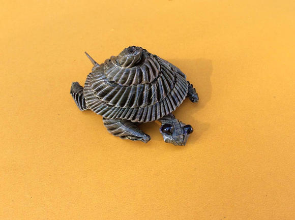 棕编乌龟 草编乌龟 棕草编小动物工艺品 长沙特色旅游