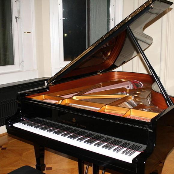 硬纸壳手工制作钢琴