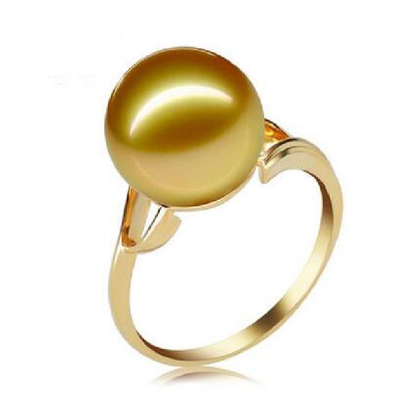 金珠戒指10mm