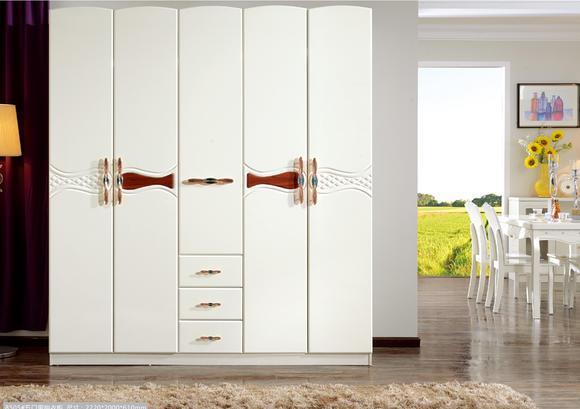 欧曼8505五门衣柜 - 喜之岛家具