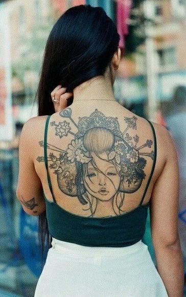 艺妓纹身 价格面议