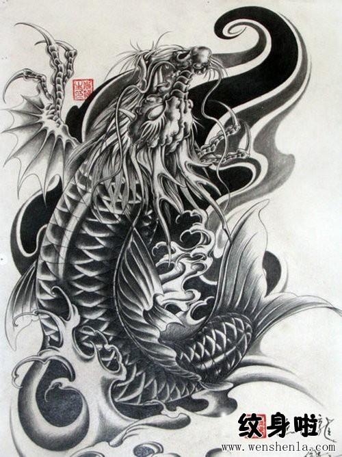 龙头鱼纹身 价格面议