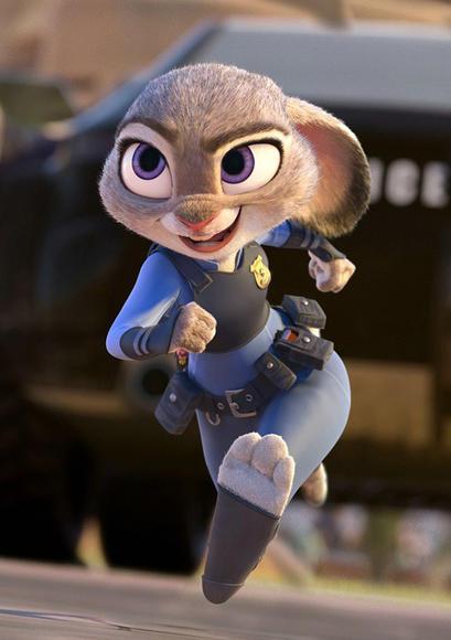 迪士尼疯狂动物城公仔 朱迪尼克 nick judy玩偶毛绒玩具