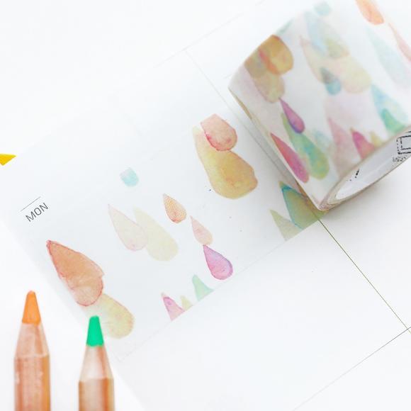 和纸胶带3 1组合套装 diy手绘日记手账花边装饰彩色胶带单面胶