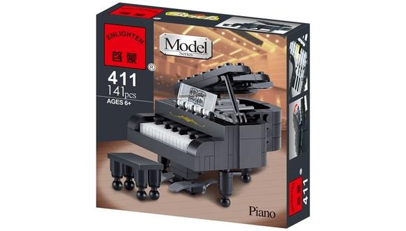 启蒙积木411钢琴