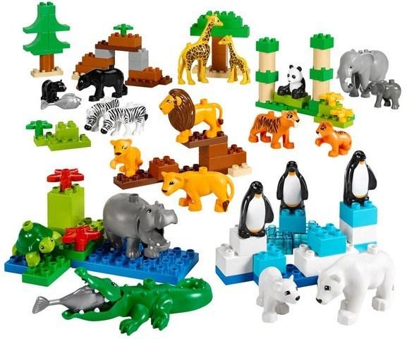 lego 乐高 得宝主题系列 野生动物园 45012