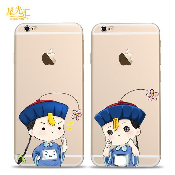 苹果6s手机壳小僵尸硅胶表情软壳iphone6卡表情包群搞笑动画主图片