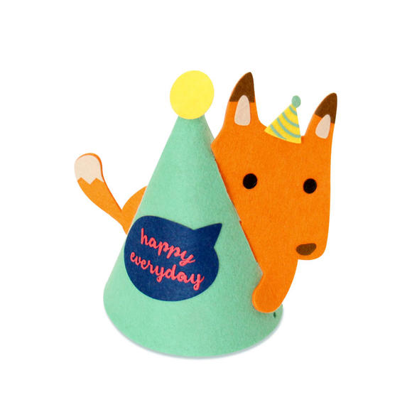 猪娃礼物 创意超萌可爱动物派对帽生日帽节庆装饰装扮
