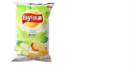乐事 黄瓜味薯片 75克