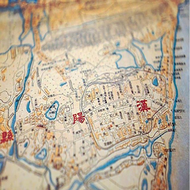1927年武汉三镇市街实测详图图片