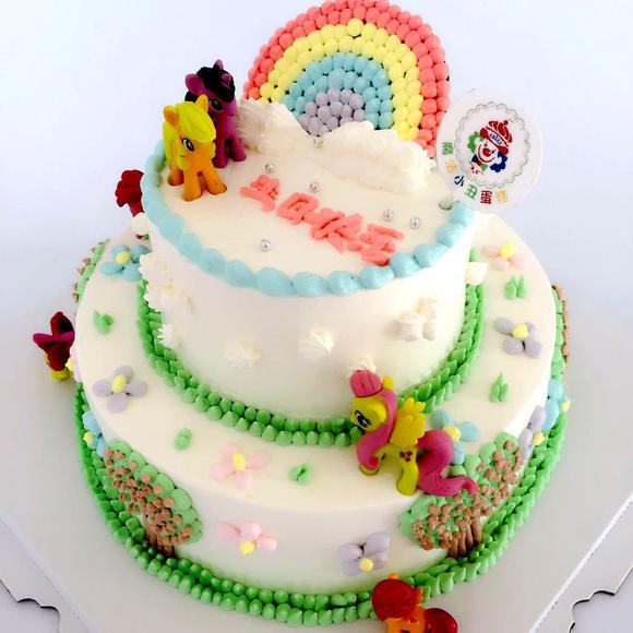 小马宝莉 - 魔法小丑蛋糕