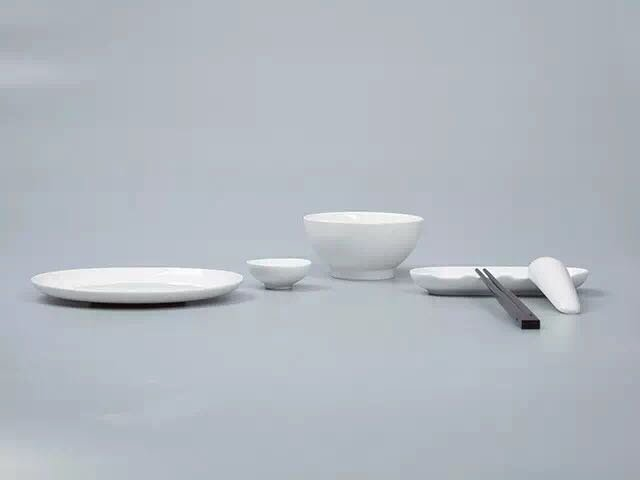 哲品 福碗陶瓷餐具套装 黑川雅之作品图片