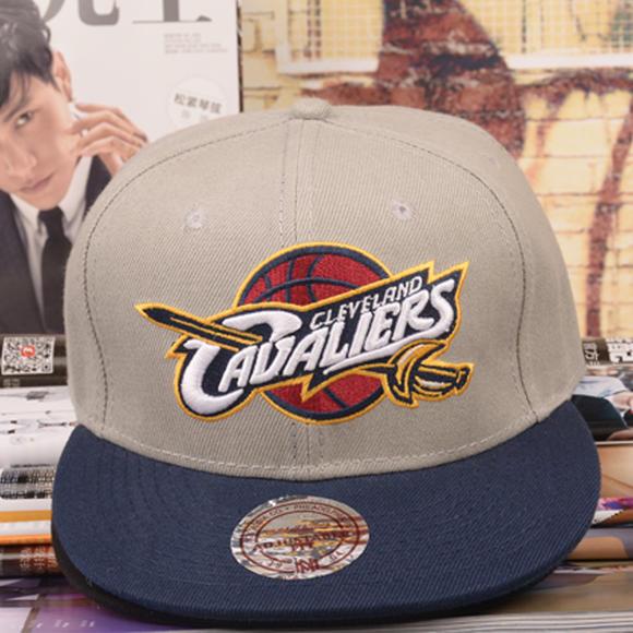 nba詹姆斯篮球帽 骑士队棒球帽棉帽子 男女遮阳帽潮 嘻哈帽平沿帽