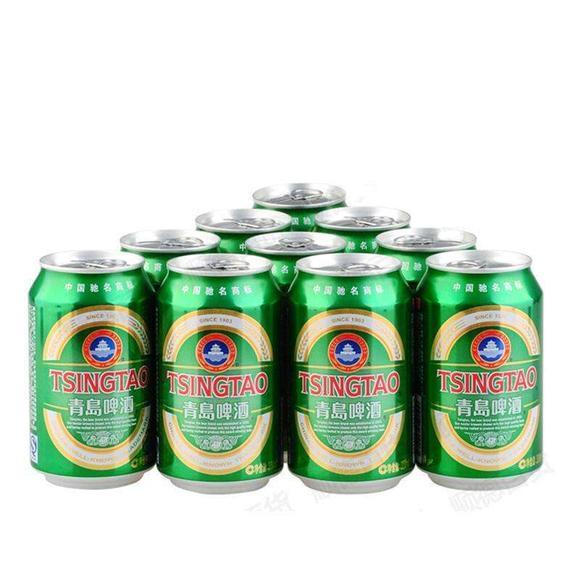 青岛纯生啤酒/罐