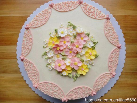 情侣蛋糕-圆形蛋糕
