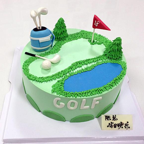 高尔夫球 - 脆蜜家蛋糕