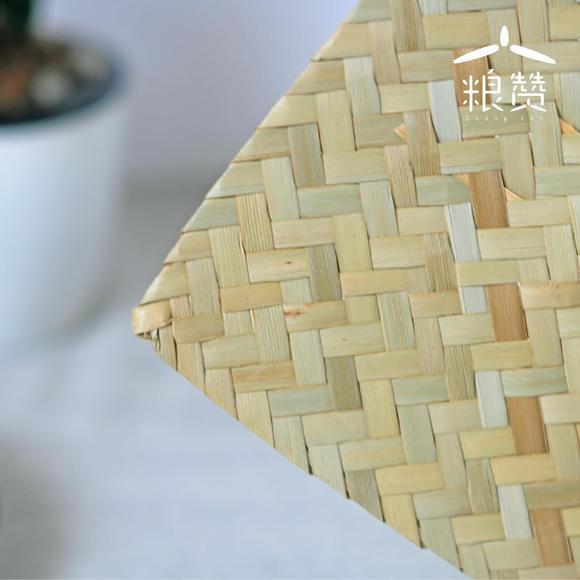 【预售】粮赞中药菖蒲扇 手工制作编织扇子 芭蕉扇团扇棕蒲扇
