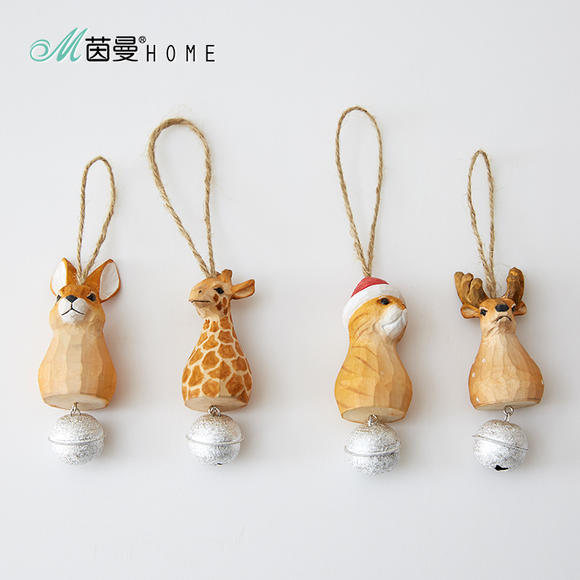 圣诞长颈鹿手工制作图片大全