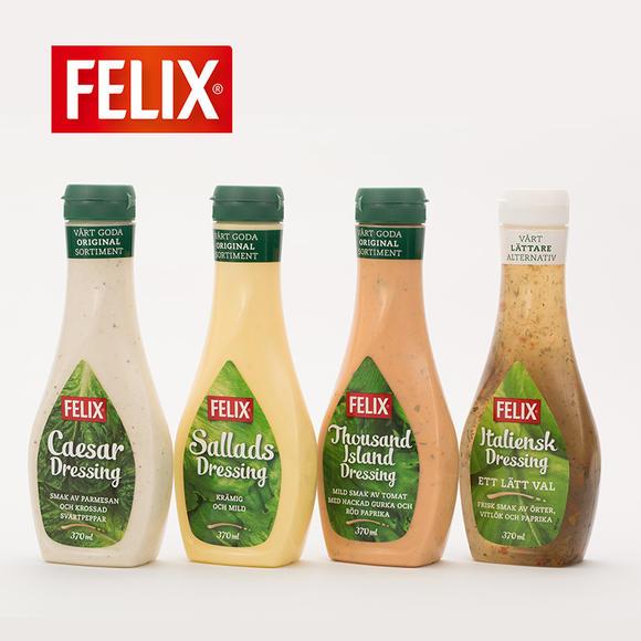 菲力斯千岛沙拉酱 【swedish import】 felix thousand island dressi