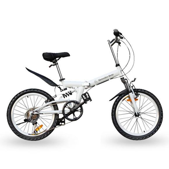 奔驰折叠自行车
