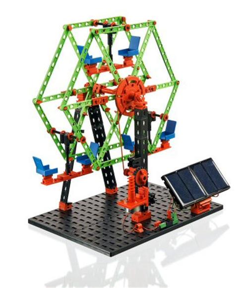 慧鱼高科能源套装 - 慧鱼创意组合模型图片