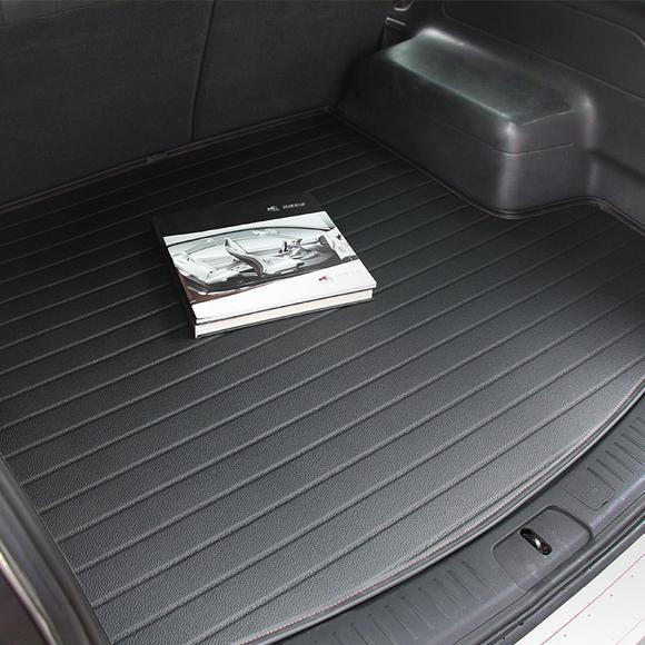 【汽车后垫】麦车饰 汽车后备箱垫皮革尾箱垫 防水耐磨 汽车用品装饰