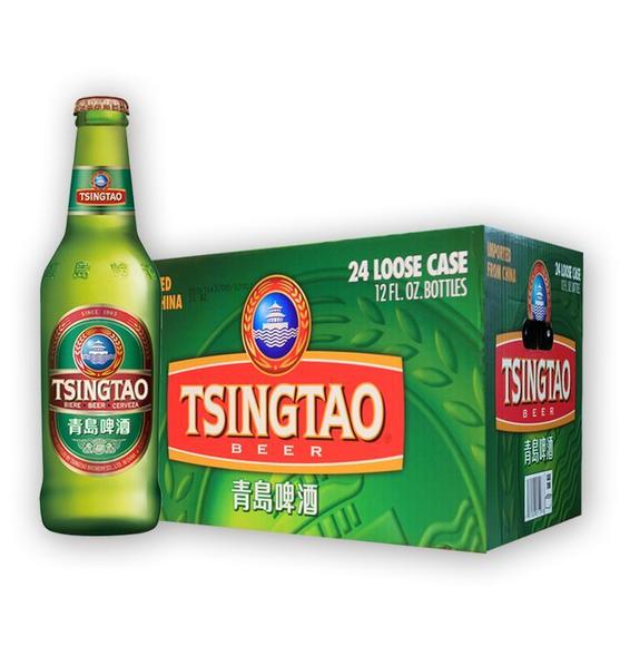 【青岛啤酒 青岛美啤 出口美国 酒精度 5度 麦汁浓度12度 保质期365天