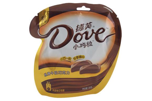 德芙小巧粒丝滑牛奶巧克力84g