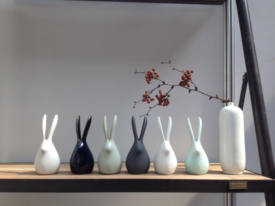 兔子先生 原创家居陶瓷摆件图片