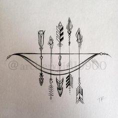 箭头纹身 时尚纹身 小清新纹身 价格面议