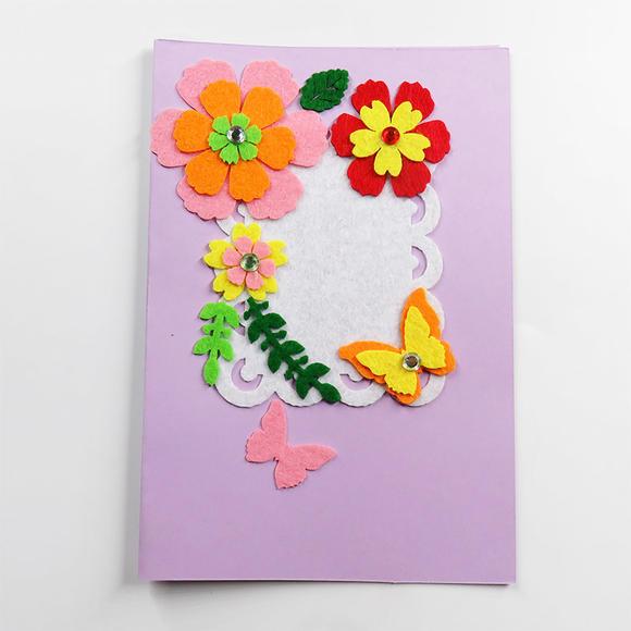 教师节贺卡儿童手工diy韩国创意生日祝福立体卡片 中秋节贺卡批发